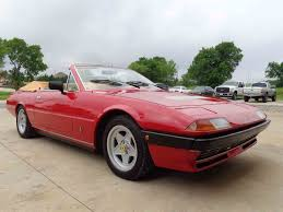 ferrari coupe convertible 1980 ferrari 400i twin turbo v12 convertible for sale