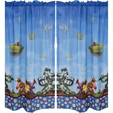 skylander bedroom skylanders boys bedroom curtains set of 2 walmart com