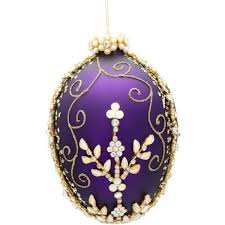 egg ornament yourchristmasstore of the valley jeweled