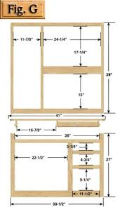 Kitchen Cabinets Faces by Hoosier Cabinet Plans Llc