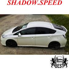 2010 toyota prius type unpainted sv type rear trunk lip spoiler wing for 2010 15 toyota