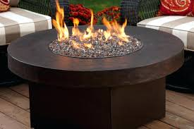 Gas Firepit Dining Table Pit Table Dining Height Darlee Propane