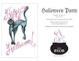 Printable Halloween Invites Halloween Invitation Wording Byob U2013 Festival Collections