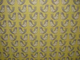 iliv kiwi scandinavian scandi birds designer curtain upholstery fabric
