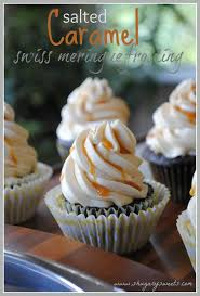 salted caramel swiss meringue frosting shugary sweets