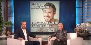 Ryan Gosling Birthday Memes - ryan gosling is totally confused by the hey girl memes that