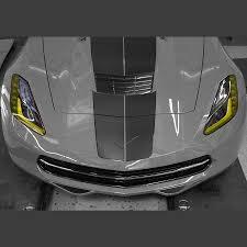 corvette stingray z06 c7 corvette stingray z06 grand sport 2014 amber headlight kit