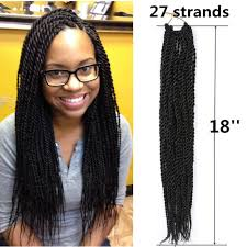 human hair used to do senegalese twist 27stands 18 senegalese senegal 2s braid twist crochet synthetic