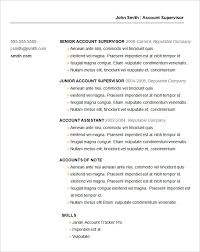free basic resume templates basic resume template 53 free sles exles format