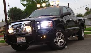 2007 dodge dakota lights lights and grill guard dakota wish list forum and