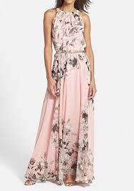 maxi dresses online pink floral print pleated sleeveless maxi dress maxi dresses