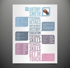 Artistic Resume Template Interesting Resume Templates Template