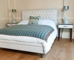 Turquoise Bed Frame Bedroom Luxurious Bedroom Design With Upholstered Bed Frame