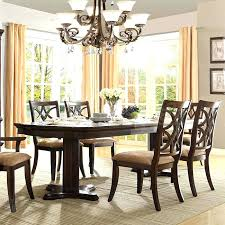 Dining Room Tables Set by 7 Pc Marble Top Double Pedestal Dining Table Set Round Pedestal