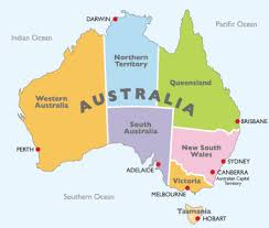 map of australia political what is a political map of australia