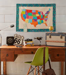 fabric usa map diy home decor diy map projects sew with jo