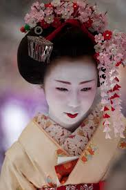 japanese hair ornaments maiko dressed with kanzashi japanese hair accessory photo b
