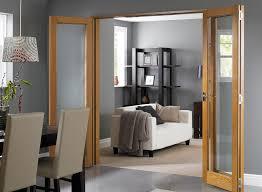 Wooden Bifold Doors Interior Fancy Oak Bifold Interior Doors D97 About Remodel