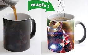 cool cups ironman iron man the avengers cool morphing coffee mugs transforming