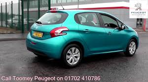 peugeot blue 2013 peugeot 208 access 1 2l oasis blue metallic yt62ccx for sale