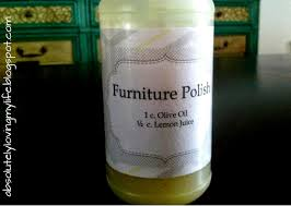 Homemade Wood Polish Cleaner 1 by Loving Life Diy Furniture Polish