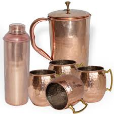 buy coffee mugs online india buy dakshcraft combo of copper jug copper lining bottle u0026 copper