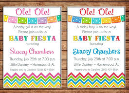 mexican baby shower baby shower invitation boy or girl mexican baby shower