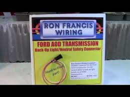 ford aod transmission connector from ron francis wiring id12896