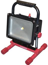Rechargeable Work Lights by Husky Rechargeable 1000 Lumen 25 Watt Led Job Site Indoor Outdoor