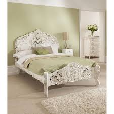White Bedroom Tallboy Rococo Antique French Bed Size Single Roccoco Antique French