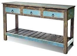 reclaimed wood entry table distressed entry table white entry table very narrow console lovely