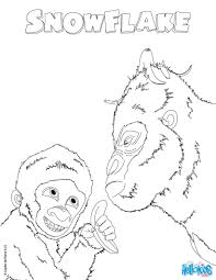 gorilla coloring pages drawing for kids kids crafts and