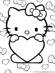 printable kitty free coloring pages art coloring pages