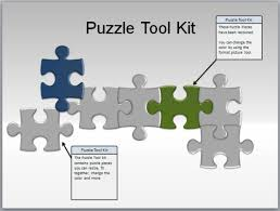 puzzle powerpoint template