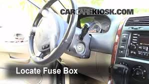 Interior Kia Sedona Interior Fuse Box Location 2002 2005 Kia Sedona 2003 Kia Sedona