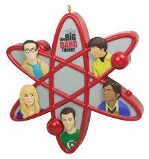 amazon com hallmark 2016 christmas ornament the big bang theory