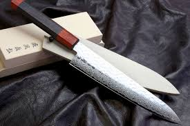 Vg10 Kitchen Knives Vg 10 46 Layers Hammered Damascus Gyuto Japanese Chefs Knife