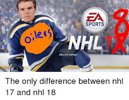 Nhl Memes - lei sports nhl elite nhlmemes the only difference between nhl 17
