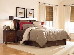bedroom bedroom with brown nuance and also double natural view