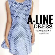 dress pattern without darts make an a line dress free sewing pattern tutorial sew guide