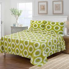 Bed Sheet Set Citrus Ikat Sheet Set