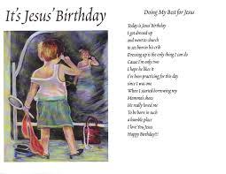 Is Really Jesus Birthday Bonnierettig Poetry