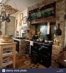kitchen splendid cool terracotta floor tiles and exposed brick