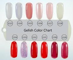 gelish nail polish colours mailevel net