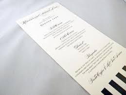 Buffet Menu For Wedding by Wedding Menu Card Wording Paperblog