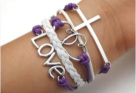anchor braided bracelet images Anchor arrow cross heart love telesthesia bracelet bracelets png