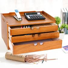 Office Desk Storage Storage Products Desktop Storage Box Wooden Office Desk Drawer