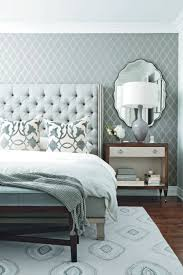 shades of grey in this monotone master bedroom design master