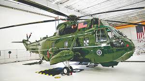 this marine one test helicopter was brought back from the dead