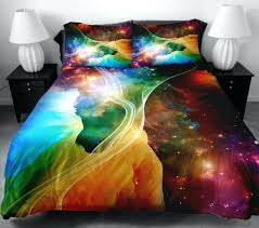Duvet Cover Stars Duvet Covers Galaxy Bedding Star Cluster In Milky Way Bedding